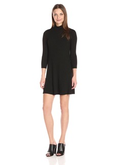 Michael Stars Women's 3/4 SLV Swing Dress  M