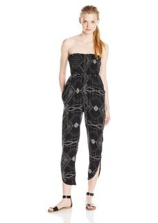 Michael Stars Women's Alameda Print Smocked Jumpsuit