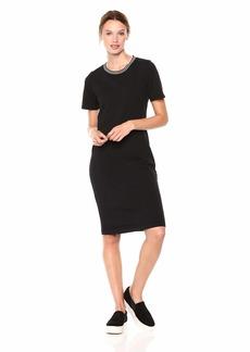 Michael Stars Women's Athletic Stripes Mini Dress  S