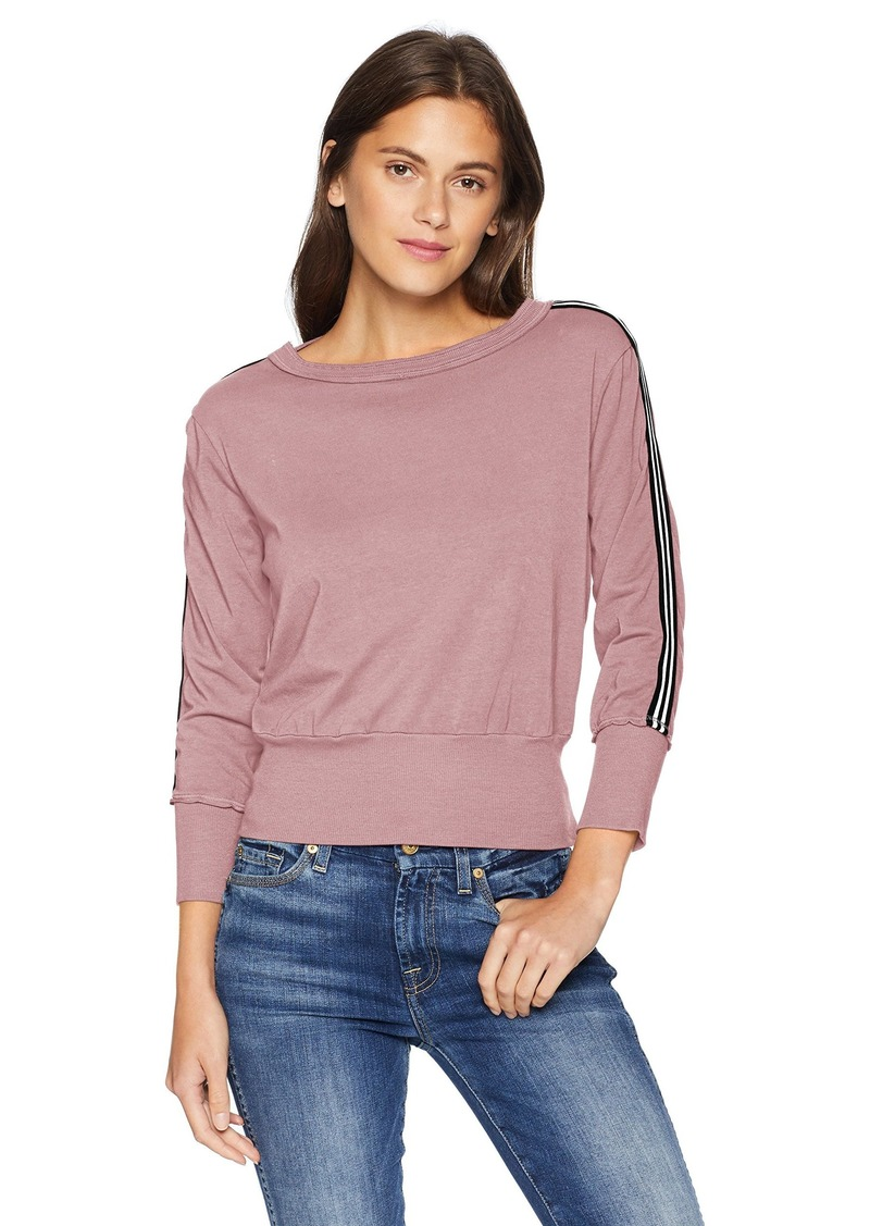 Michael Stars Women's Athletic Stripes Pullover