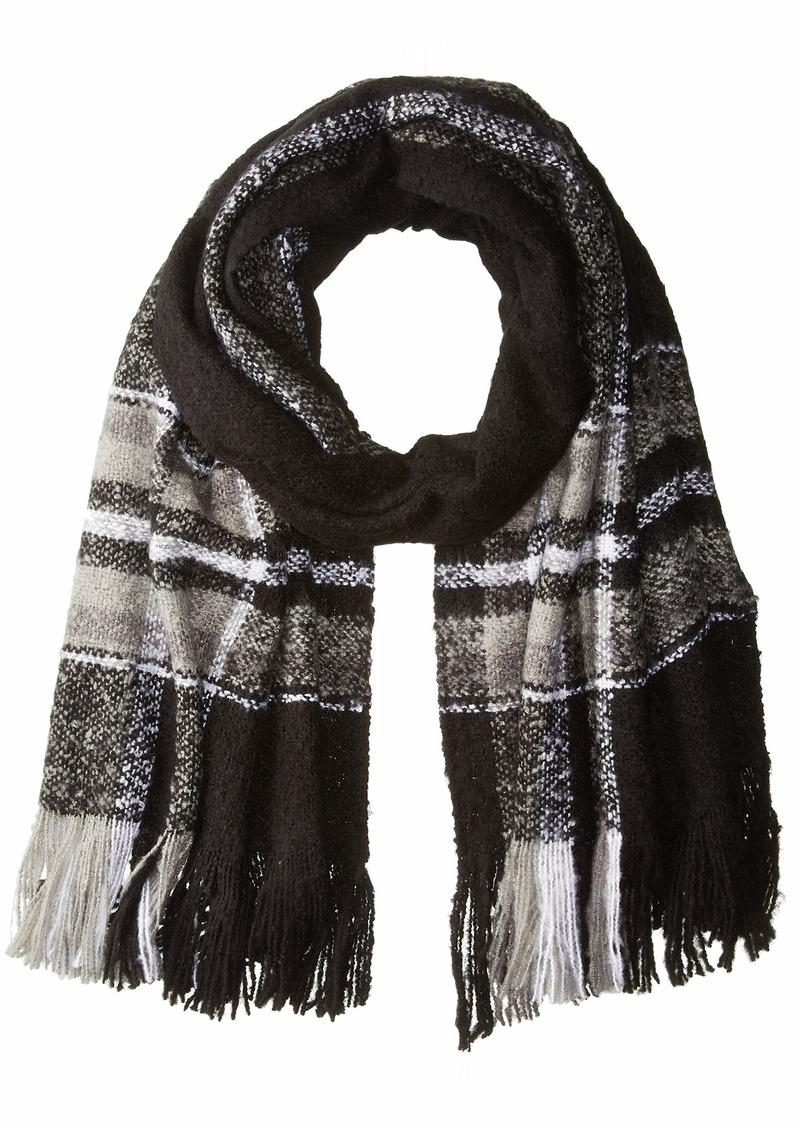 Michael Stars Women's Boucle Scarf black