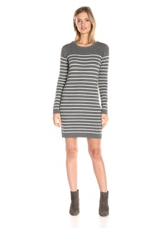 Michael Stars Women's Cashmere Blend Striped Sweater Dress