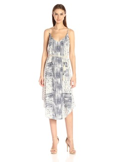 Michael Stars Women's Charlotte Print Midi Dress  M