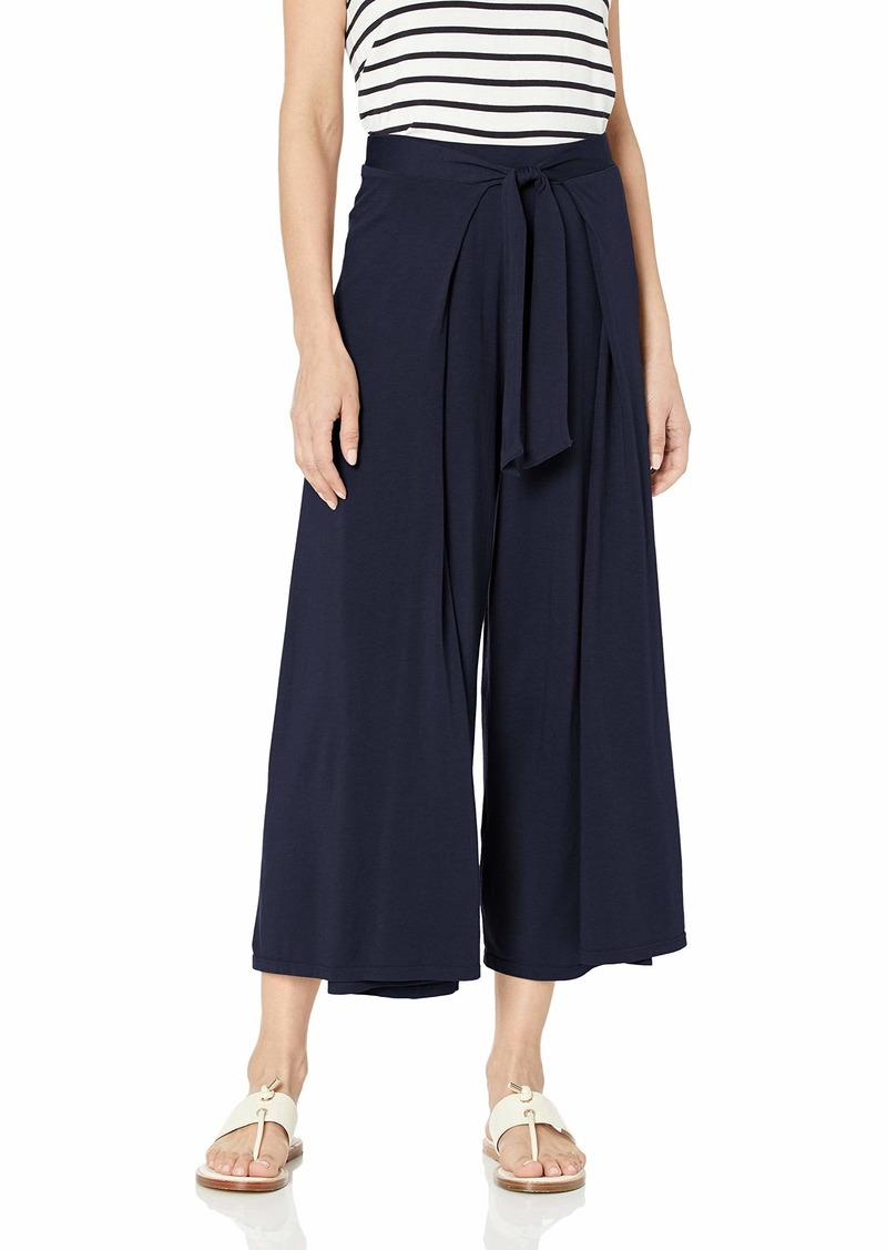 Michael Stars Women's Clarissa Cropped Culottes with Front tie