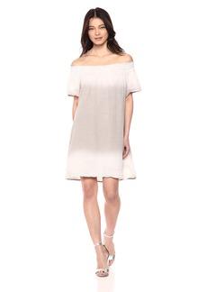 Michael Stars Women's Coastal Wash on Double Gauze Smocked Dress