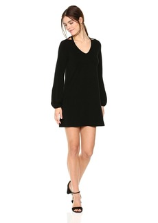 Michael Stars Women's Collection Long Sleeve Cut-Out Dress  S