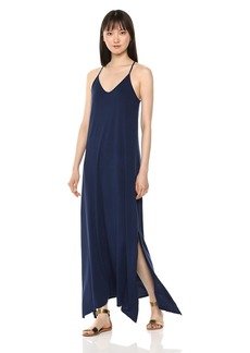 Michael Stars Women's Cotton Modal Long Strappy Dress
