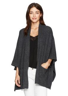 Michael Stars Women's Cozy Knit Cape Pockets  S