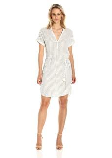 Michael Stars Women's Dobby Stripe Caftan Dress  XS