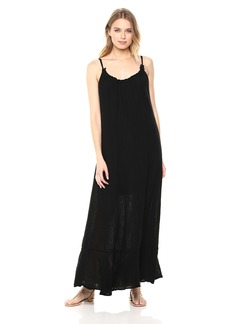 Michael Stars Women's Double Gauze Front-to-Back Maxi Dress