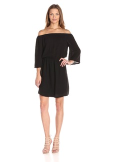 Michael Stars Women's Double Gauze Off Shoulder Dress