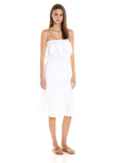 Michael Stars Women's Double Gauze Strapless Dress  XS