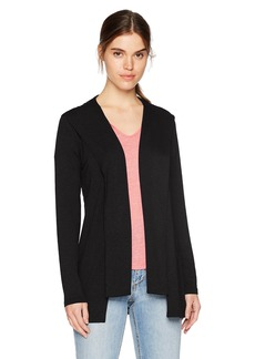 Michael Stars Women's Elevated French Terry Draped Hoodie  L