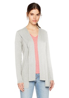 Michael Stars Women's Elevated French Terry Draped Hoodie  XS
