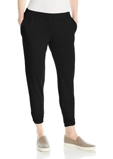 Michael Stars Women's French Terry Jogger Pant with Ruched Hem  S