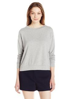 Michael Stars Women's French Terry Longsleeve Sweatshirt  M