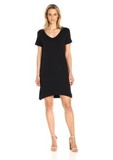Michael Stars Women's French Terry Short Sleeve Sweatshirt Dress  S