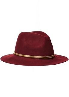 Michael Stars Women's Gilded Rancher Wide Brim Wool Felt Hat