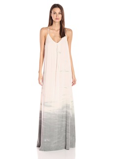 Michael Stars Women's Haze Wash Maxi Slip Dress  M