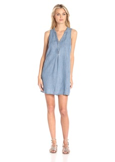 Michael Stars Women's Henley Tank Dress