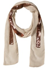 Michael Stars Women's Hint of Sparkle Scarf whisper