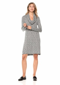 Michael Stars Women's Jasper poorboy Cowl Neck a-line Dress
