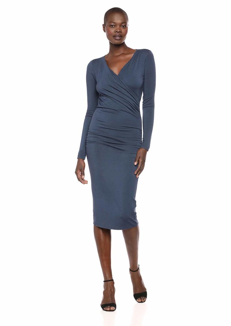 Michael Stars Women's Jules Jersey Mikaela Crossover Dress