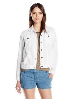 Michael Stars Women's Linen Jean Jacket  S