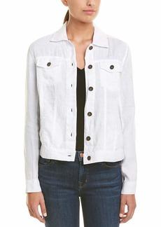 Michael Stars Women's Linen Jean Jacket  XS