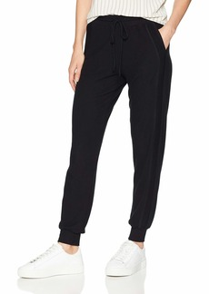Michael Stars Women's Madison Brushed Jersey Pull on Pant with Drawstring  Extra Small