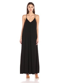 Michael Stars Women's Maxi Slip dress black S
