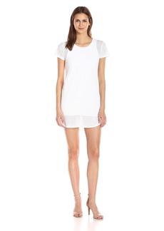 Michael Stars Women's Mesh Tee Shirt Dress  S