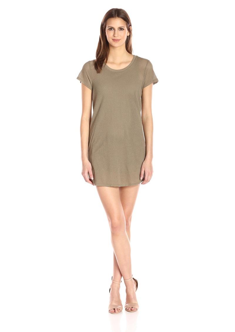 Michael Stars Women's Mesh Tee Shirt Dress  XS