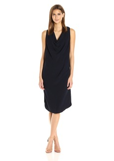 Michael Stars Women's Modern Rayon Draped Front Dress  XS