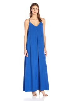 Michael Stars Women's Modern Rayon Maxi Slip Dress  XS