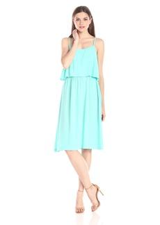 Michael Stars Women's Modern Rayon Open Back Cami Dress