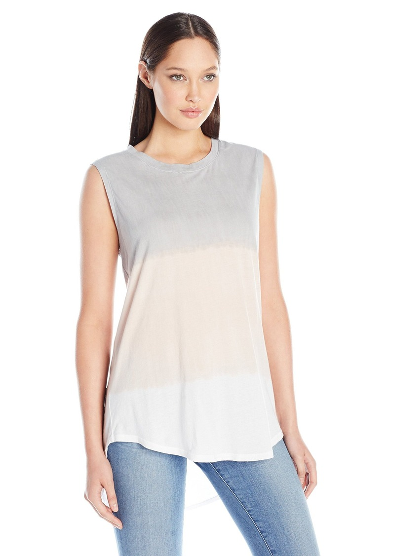 Michael Stars Women's Muscle Tank With High/Low Hem