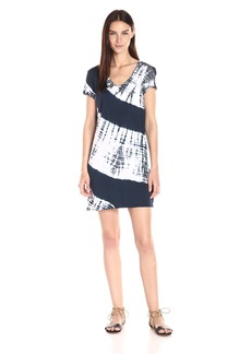 Michael Stars Women's Nolita Wash Short-Sleeve T-Shirt Dress with Pocket