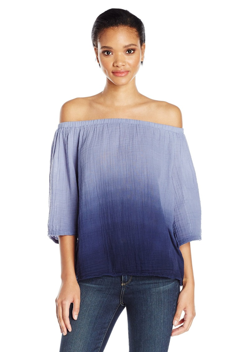 Michael stars michael stars women 39 s ombre wash double for Michael stars t shirts on sale