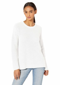 Michael Stars Women's Paige Scoop Neck Cotton Knit Sweater