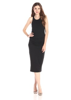 Michael Stars Women's Racerback Midi Dress black XS