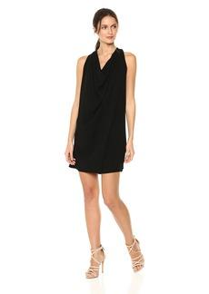 Michael Stars Women's Rylie Rayon Draped Halter Dress  S