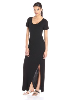 Michael Stars Women's Short-Sleeve Maxi Dress with Back Twist