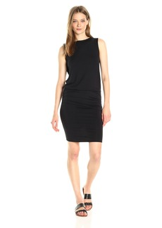 Michael Stars Women's Sleeveless Dress with Rouching  XS