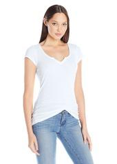 Michael Stars Women's Split-Neck T-Shirt