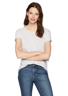 Michael Stars Women's Supima Cotton Slub Short Sleeve Crew Neck Tee