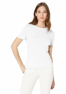 Michael Stars Women's Supima Mady Short Sleeve Crewneck tee