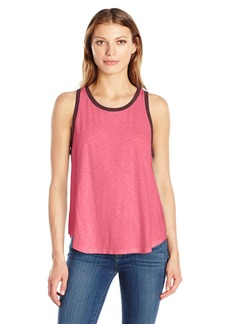Michael Stars Women's Swing Tank Ringer Detail