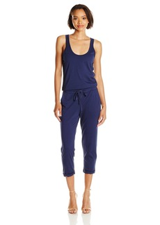 Michael Stars Women's Tank Jumpsuit with Drawstring Waist