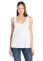 Michael Stars Women's Tank W Crochet Back
